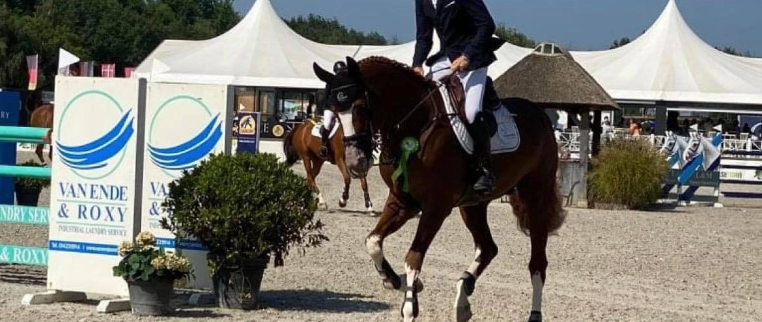 Goede resultaten voor Ermitage Kalone afgelopen weekend in zowel sport als fokkerij